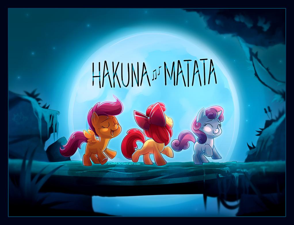 Hakuna Matata Crusaders by zombie