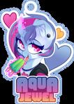 Bronycon Badge - Aqua Jewel