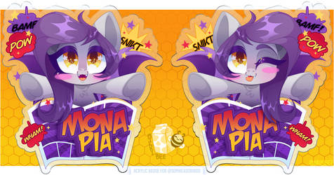 2019 Badge - Mona Pia