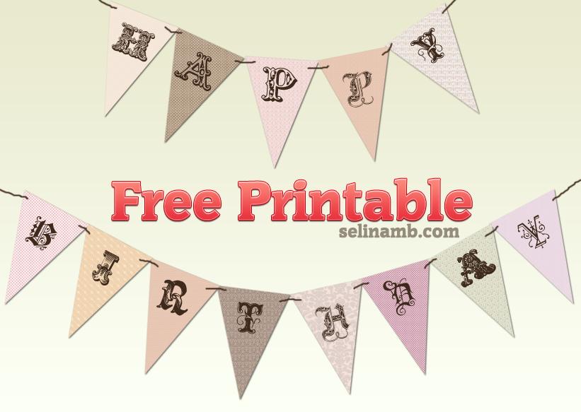 91 free printable happy anniversary banner templates happy free