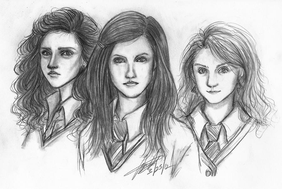 CO: Hermione, Ginny, Luna