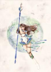 G: Sailor Earth Warrior by ann4rt