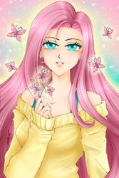 Fluttershy by ann4rt