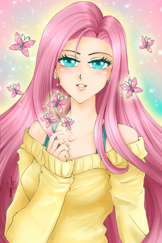 Fluttershy by wickedz