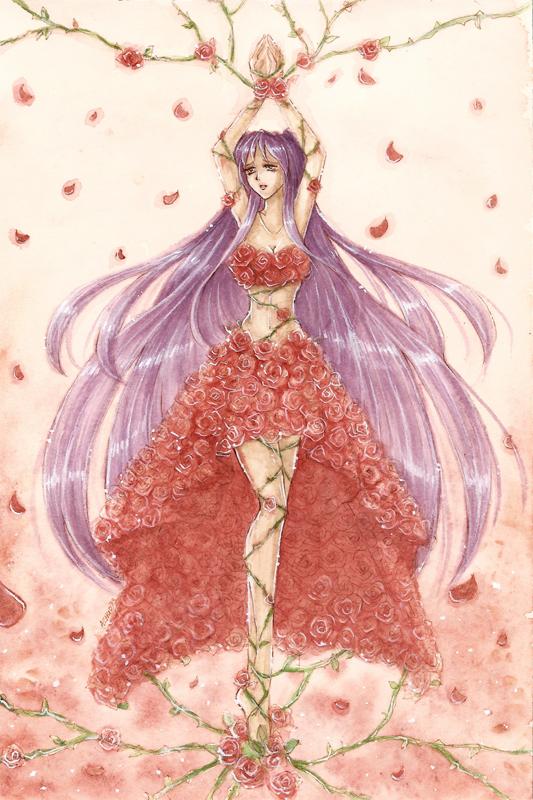 C rose princess by wickedz on deviantart for Rosier princesse d orient