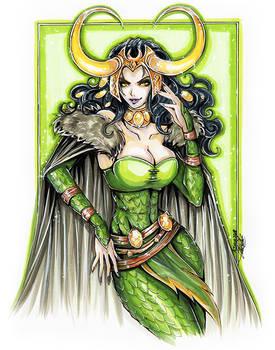 C: Lady Loki
