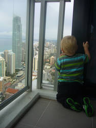 My Son at Surfers Paradise QLD by InsecureNumbAngel