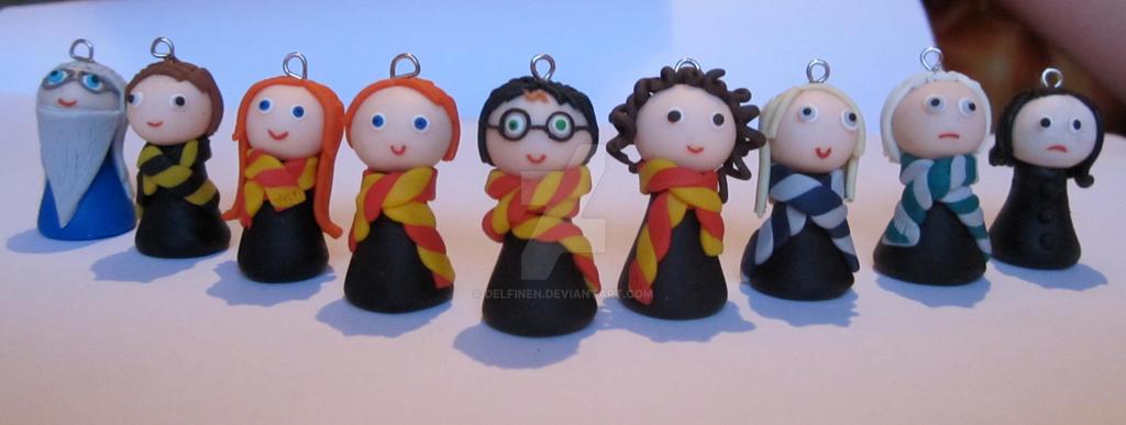 Lot Of 3 Harry Potter Figures Harry Potter Hermione Granger Ron Weasley