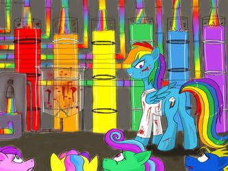 Rainbow factory by angela808