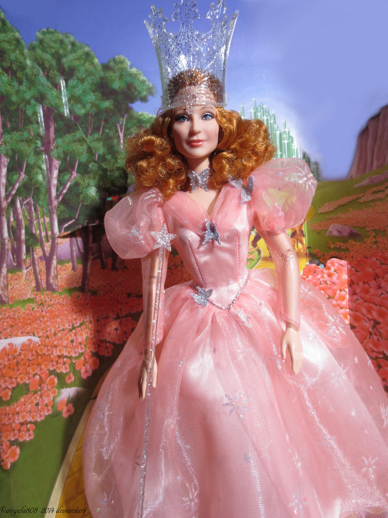 glinda the witch of the north barbie by angela808 on deviantart