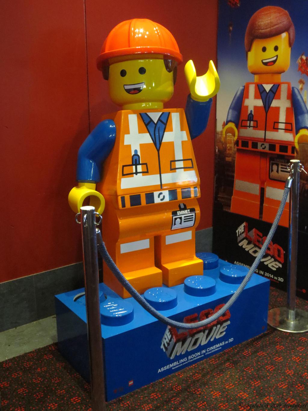 THE LEGO MOVIE Emmet Brickowski by angela808 on DeviantArt