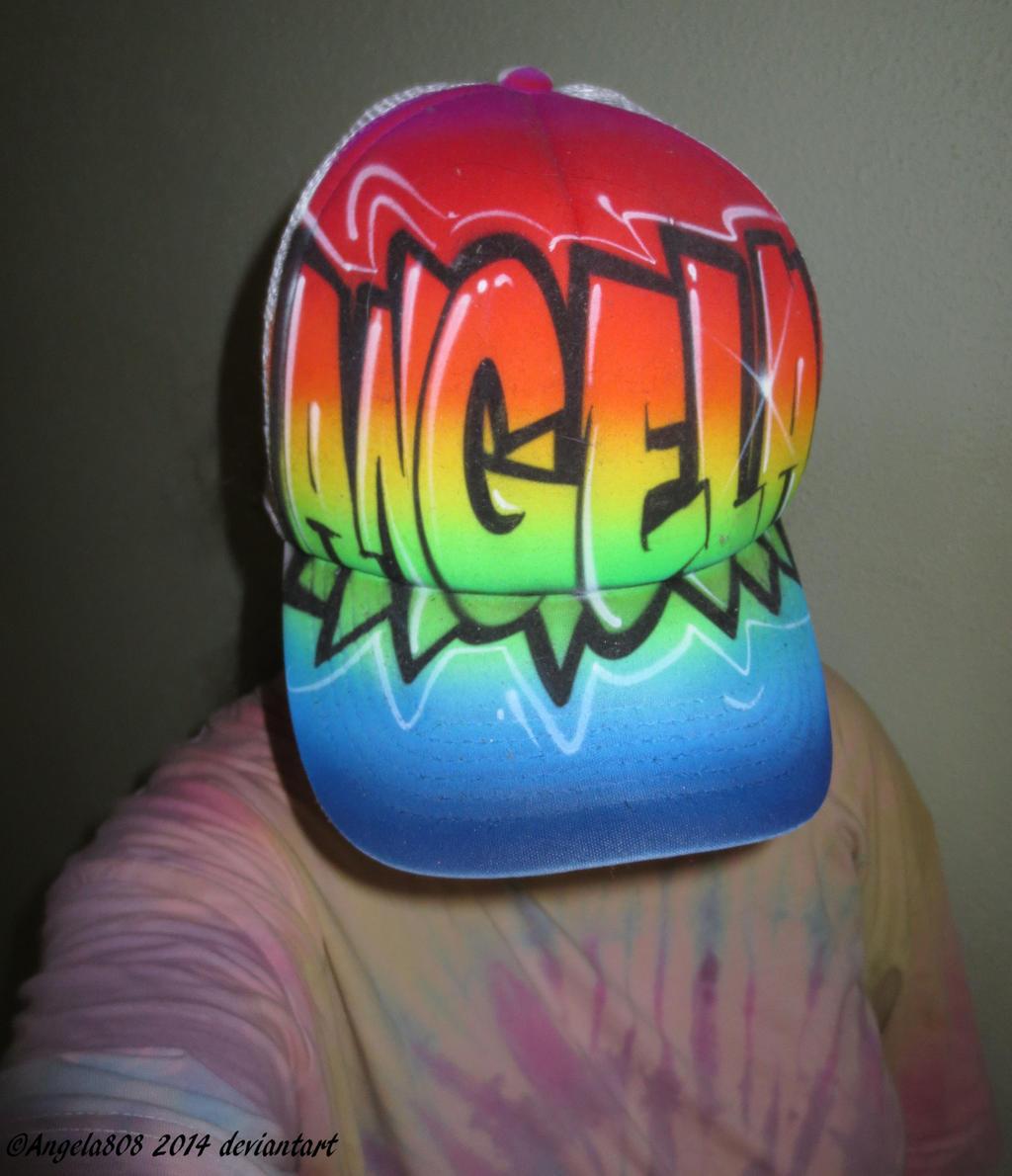 Graffiti hat by angela808 on deviantART