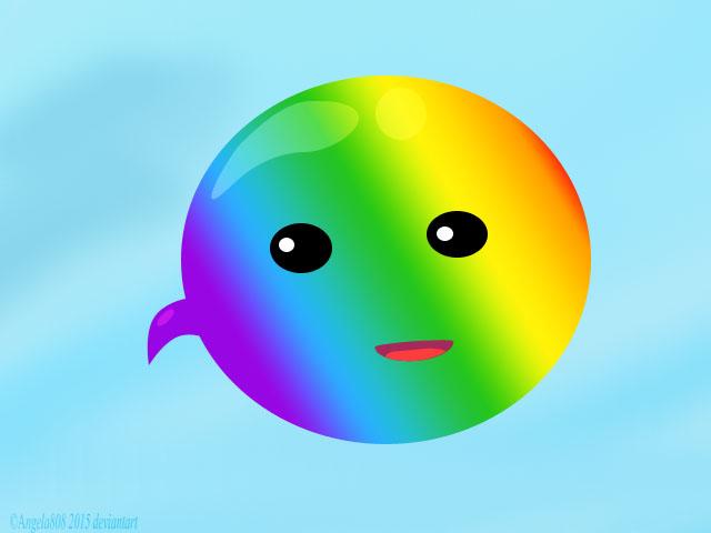 Hello Rainbow vector by angela808