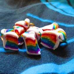 Rainbow Cake Charms