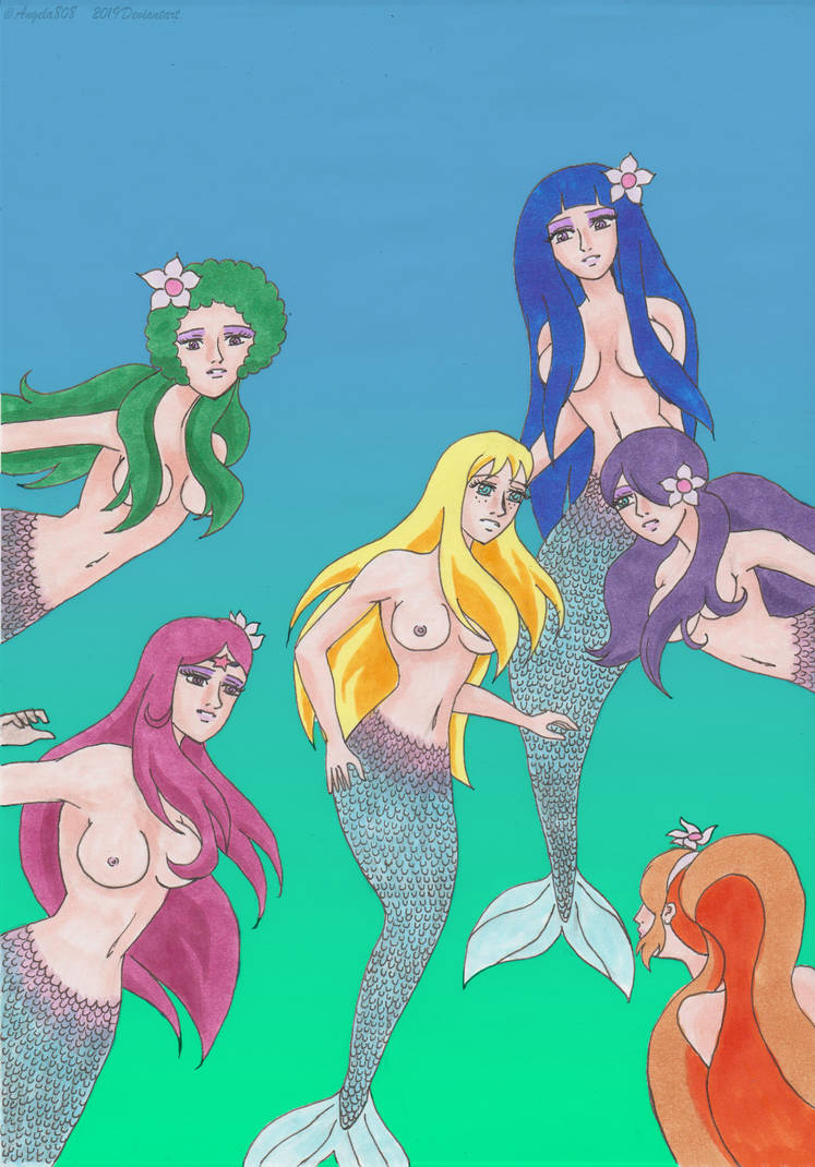 The little mermaid anime