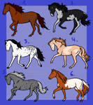 Realistic Horse Adopts 4/6 OPEN