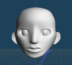 WIP Head Model