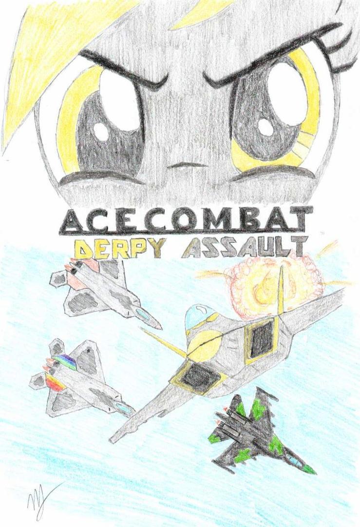 Ace Combat Derpy Assault by mzx-90