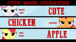The Cute The Chicken And The Apple