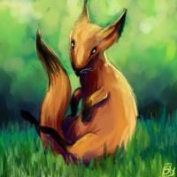 Fox by Skaistele