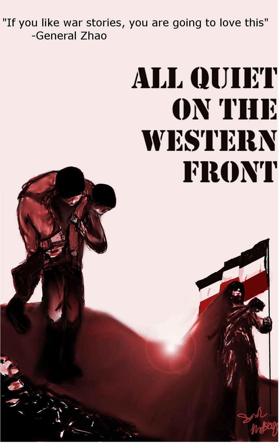 All quiet on the western front thesis