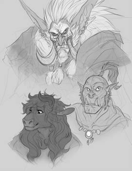 Warcraft_doodles