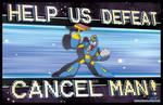 Cancel Man - commission