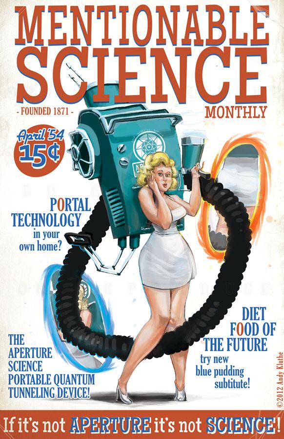 Aperture Science Portable Quantum Tunneling Device