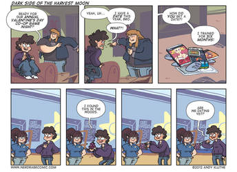 Nerd Rage - Dark Side of the Harvest Moon by AndyKluthe