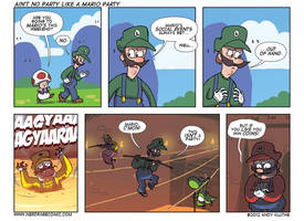 Ain't No Party Like A Mario Party - Nerd Rage by AndyKluthe