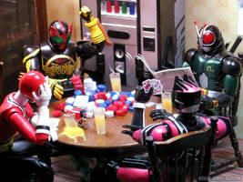 Kamen Rider Poker - Tamashii Photo