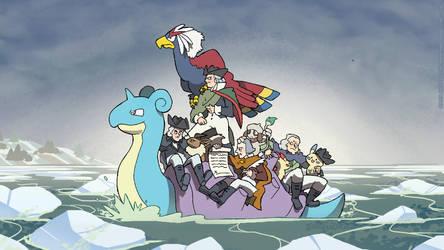 Pokemon Revolution Wallpaper by AndyKluthe