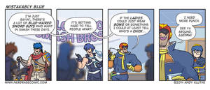 Nerd Rage - Mistakably Blue by AndyKluthe