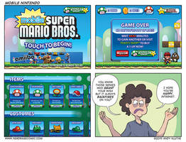 Nerd Rage - Mobile Nintendo by AndyKluthe