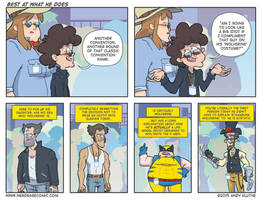 Nerd Rage - Best at What He Does by AndyKluthe