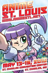 Anime St. Louis 2016 Postcard by AndyKluthe