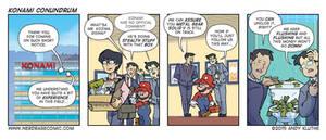 Nerd Rage - Konami Conundrum by AndyKluthe