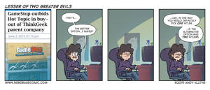 Nerd Rage - Lesser of Two Greater Evils by AndyKluthe