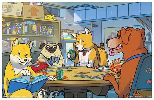 Dogs Playing Pokemon