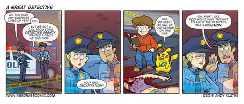 Nerd Rage - A Great Detective by AndyKluthe