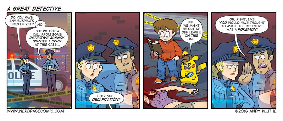 Nerd Rage - A Great Detective