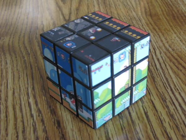 Super Mario World Cube by Kricket1385