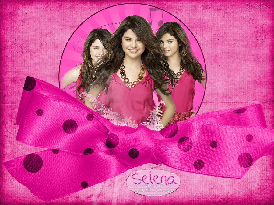 Selena Gomez Wallpaper by NyappyGirl99 on DeviantArt