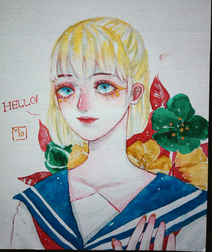 Hi guys! I'm a new member :3 by momohm