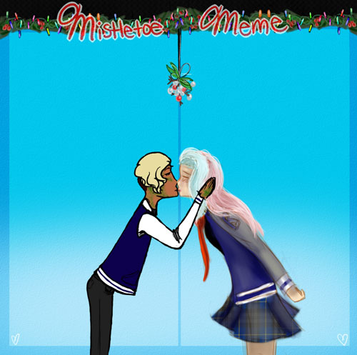 Mistletoe Meme by NerdNations