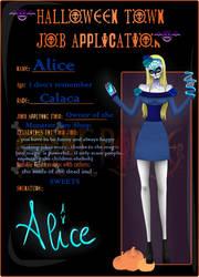 :Halloween Town: Alice by xxHxAxx