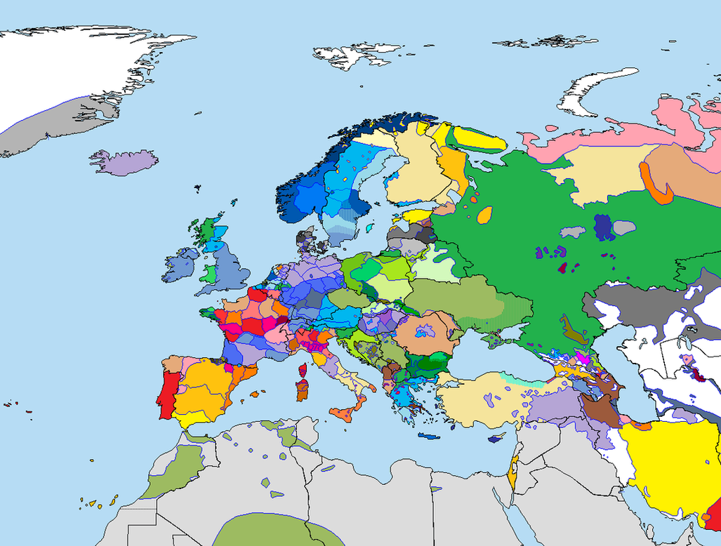 Languages of Europe by Totentanz0