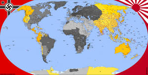 Nazi Victory Map -PART 4- by Totentanz0