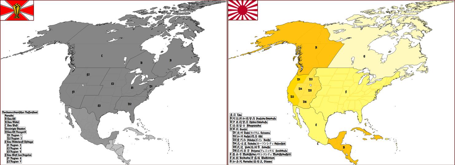 Nordamerikanischer Rassenstaat / Toa by Totentanz0