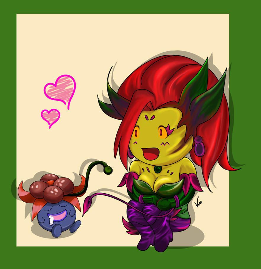 Zyra and Gloom Love! by DeidaraSux